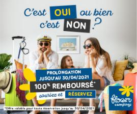 offre remboursement 100% camping Aveyron